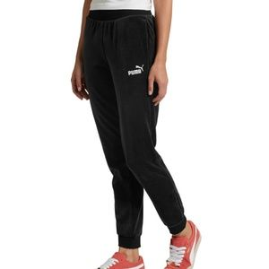 Puma Essentials+ Velour Joggers Track Pants